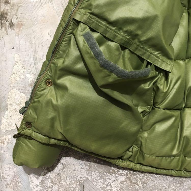 70s USA製 エディーバウアー ビンテージ ダウンジャケット アメリカ古着 80s 60s サイズ L XL メンズ Eddie Bauer リップストップナイロン_画像5