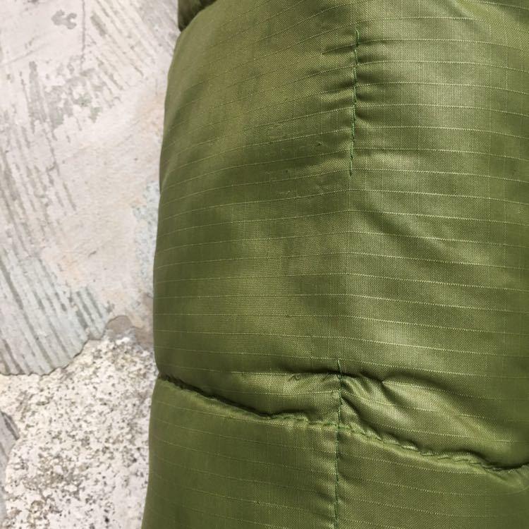 70s USA製 エディーバウアー ビンテージ ダウンジャケット アメリカ古着 80s 60s サイズ L XL メンズ Eddie Bauer リップストップナイロン_画像8