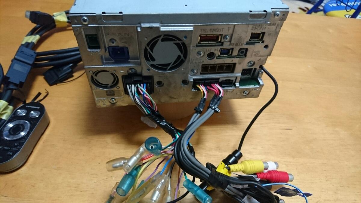 2012年度版 AVIC-HRZ990 DVD フルセグ 走行中視聴可能 美品 リモコン付き 作動確認済み_画像6
