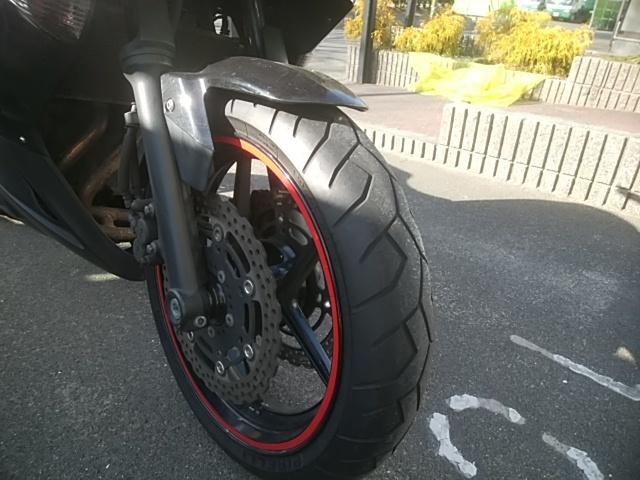 カワサキ ニンジャ400R Ninja 黒 車検32年11月まで タイヤ前後バリ山 パッド前後交換済み すぐ乗れます!売り切り!名古屋より_画像3