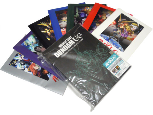 [同梱対応可]機動戦士ガンダムUC 劇場用プログラム収納ケース & 劇場版 パンフレット 全7冊セット ユニコーン EP1 2 3 4 5 6 7 BOX