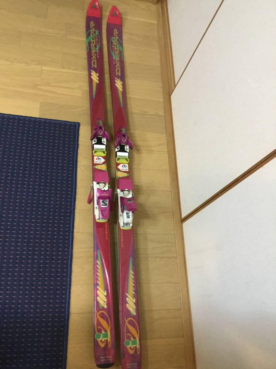 ダイナスター スキー板 171㎝ ビンディング サロモン_画像1
