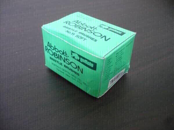 歯科技工 バッファロー ロビンソンブラシ No11 12本入り6箱_画像3