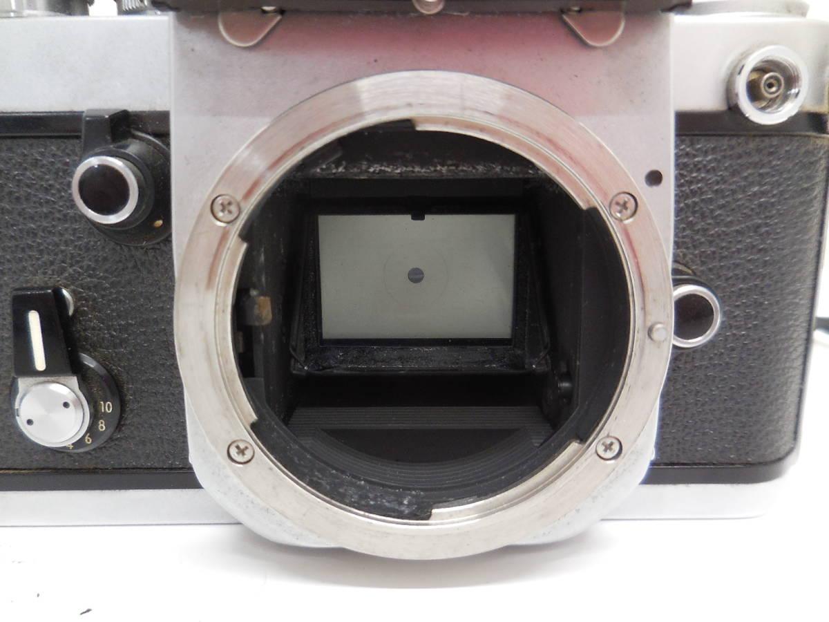 Nikon F2 7687628/NIKKOR 55mm 1:1.2 384395 動作未確認 ジャンク_画像6