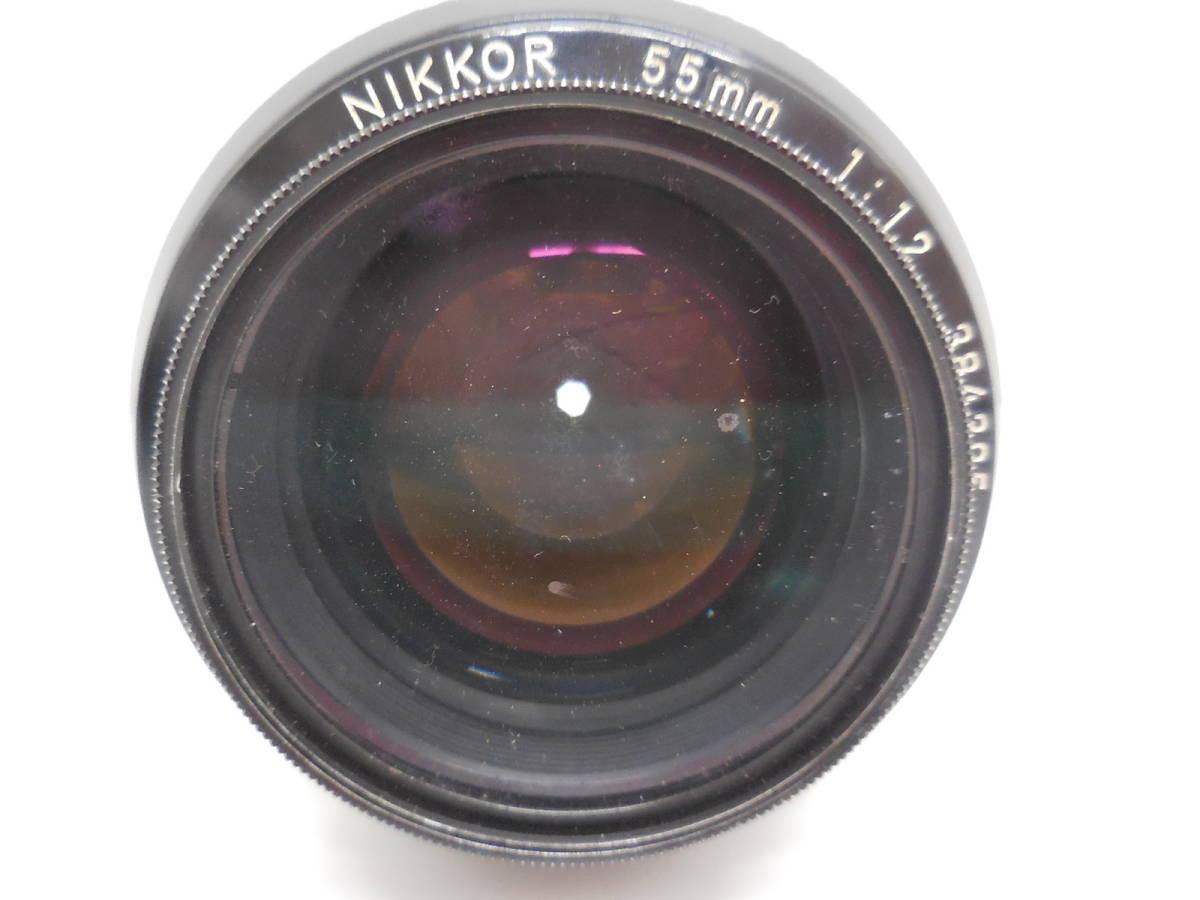 Nikon F2 7687628/NIKKOR 55mm 1:1.2 384395 動作未確認 ジャンク_画像7
