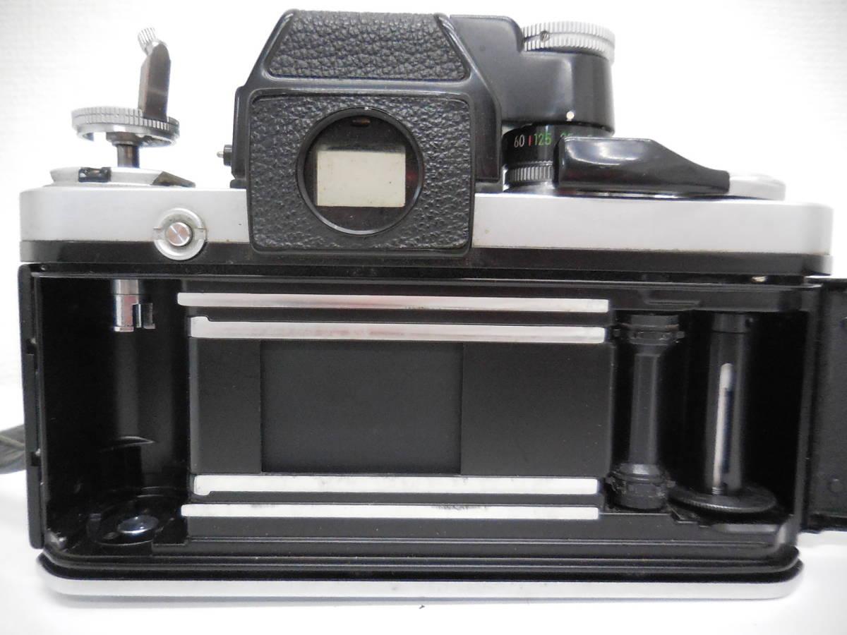 Nikon F2 7687628/NIKKOR 55mm 1:1.2 384395 動作未確認 ジャンク_画像9