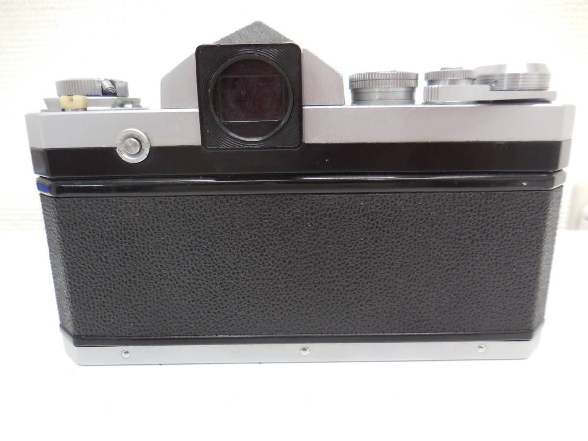 Nikon F アイレベル/NIKKOR-S f-50mm 1:1.4 動作未確認 ジャンク_画像8