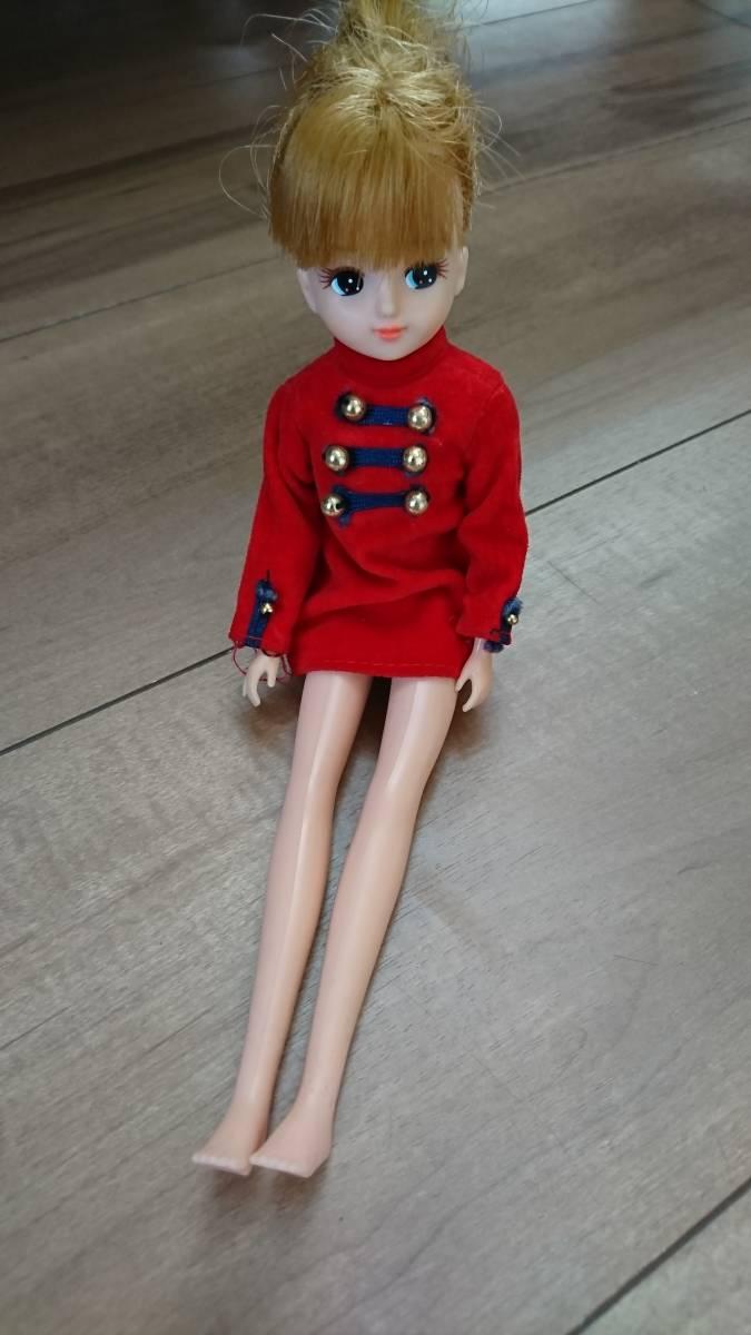 初代リカちゃん レア☆ミリタリールック 洋服のみの出品 ワンピースりかちゃん