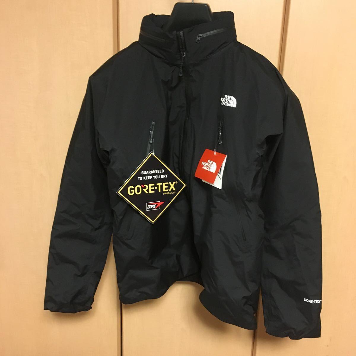黒/JP/Lサイズ定価45360円THE NORTHFACE GTXインサレーションジャケット マウンテンジャケット マウンテンパーカー ゴアテックス