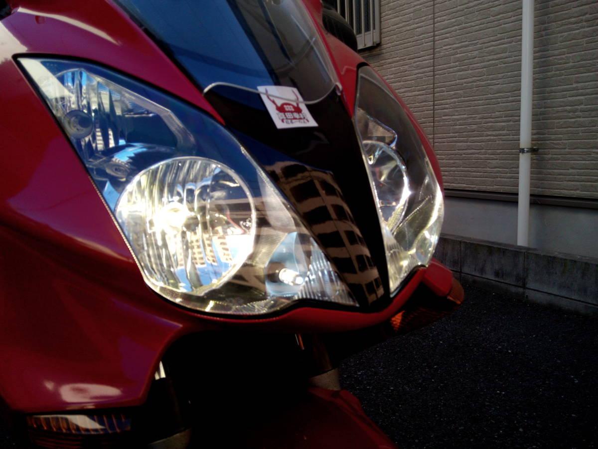 逆車 平成14年VFR800 車検平成32年10月 2型V-TEC ETC+パニヤ+トップケース+グリップヒーター+LED アップハン ツーリング仕様 東京発_画像5