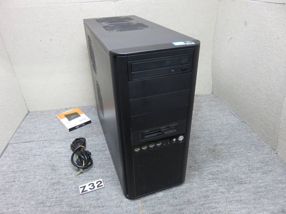 i7 第 3 世代 / 16GB / 新SSD 240GB + 1TB