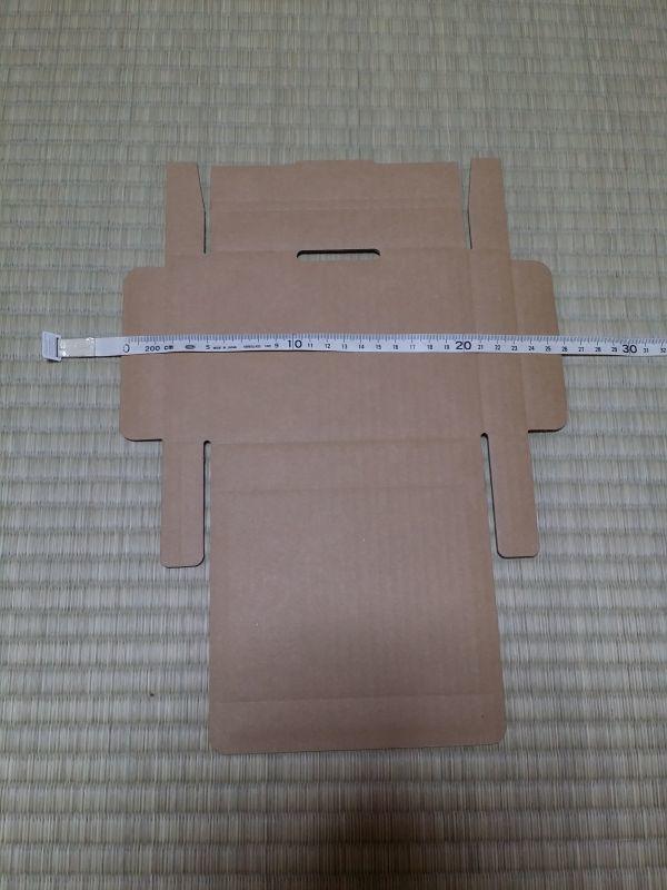 100枚セット★クリックポスト用A6・ ダンボール箱 ゆうパケット・ハガキサイズ(段ボール箱)(外寸:160×123×29mm)(3ミリ厚)_画像5