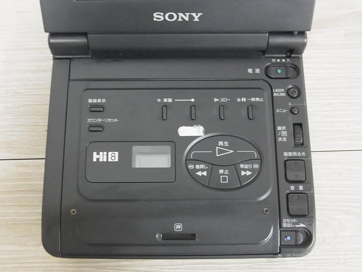 2847 SONY GV-A700 デジタルビデオカセットレコーダー ジャンク_画像3