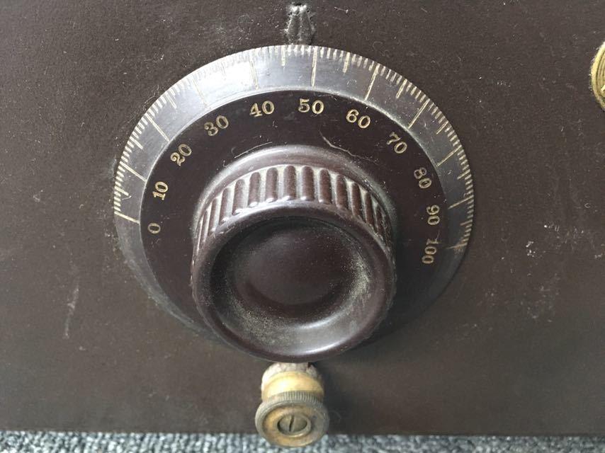 ラジオ ATWATER KENT/アトウォーターケント MODEL 33 米国 アンティーク 真空管 中古品 reref-d 1226_画像3