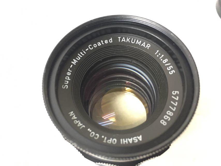 カメラ PENTAX/ペンタックス SP/SV レンズ 1:2/35mm 3.5/35mm 1.8/55 中古品 reref-s 1021-2_画像8