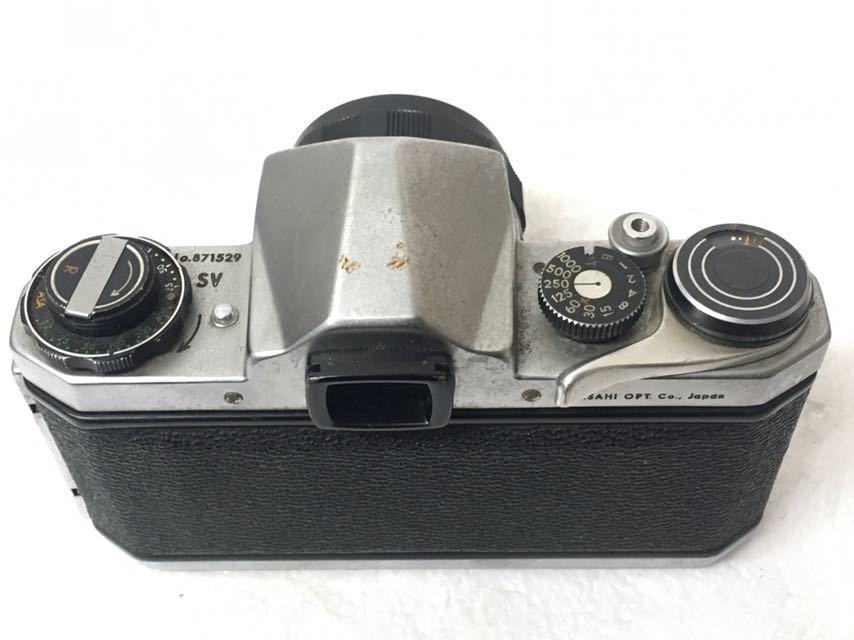 カメラ PENTAX/ペンタックス SP/SV レンズ 1:2/35mm 3.5/35mm 1.8/55 中古品 reref-s 1021-2_画像6