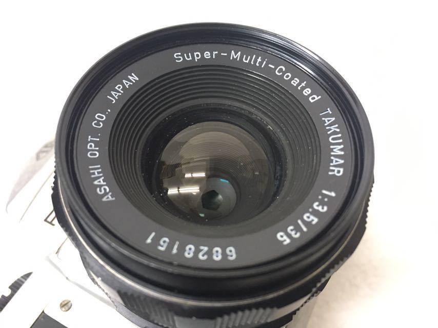 カメラ PENTAX/ペンタックス SP/SV レンズ 1:2/35mm 3.5/35mm 1.8/55 中古品 reref-s 1021-2_画像7