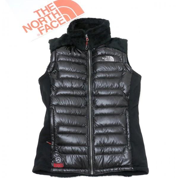 97901b THE NORTH FACE (ノースフェイス)【正規品】メンズ SUMMIT ストレッチ ダウンベスト/ Super Premiumグースダウン/ブラック黒L