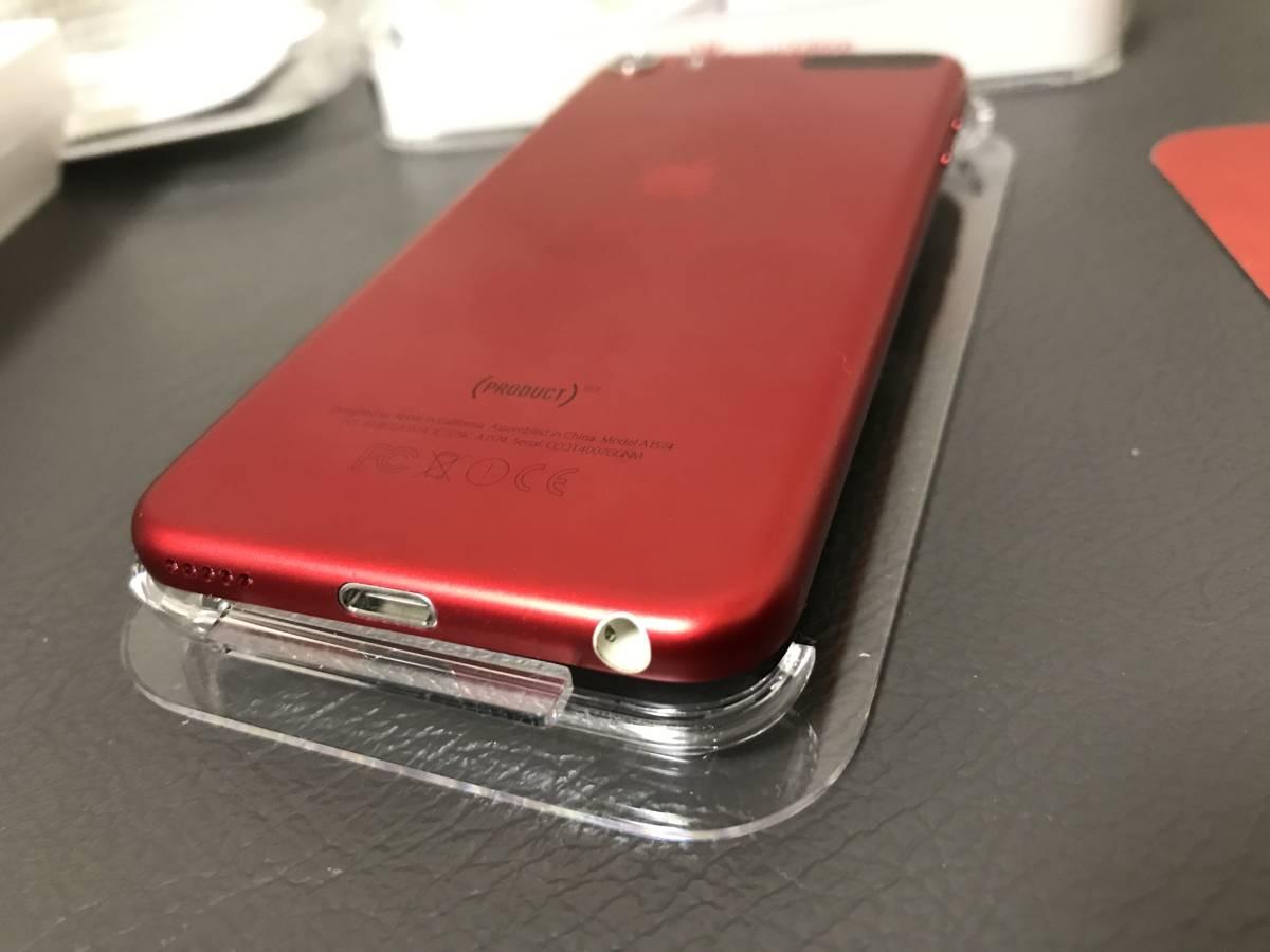 ★☆送料無料(c)Apple iPod touch 32GB レッド(PRODUCT)REDのiPod touch 第6世代A1574☆★100円_画像7