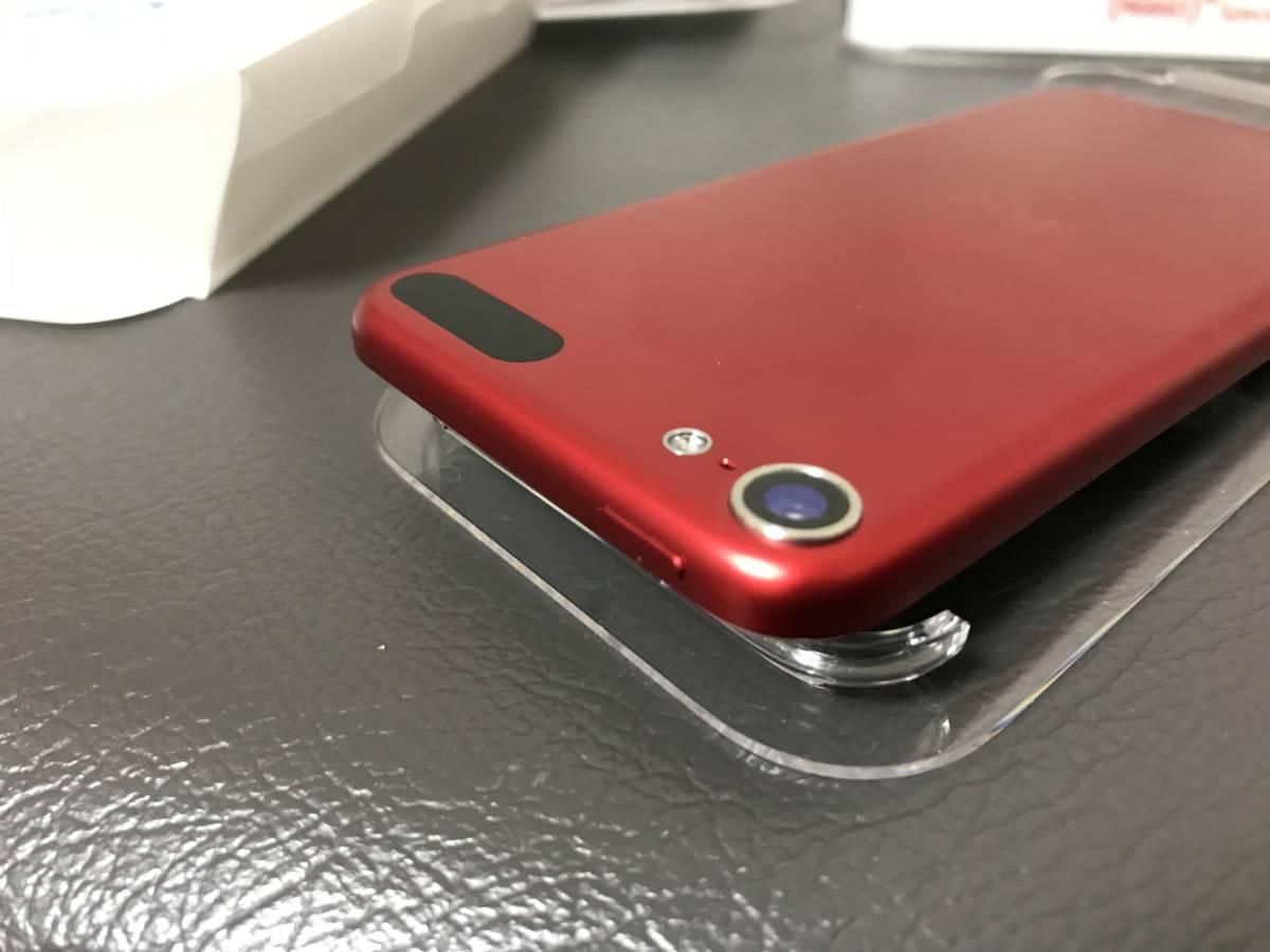 ★☆送料無料(c)Apple iPod touch 32GB レッド(PRODUCT)REDのiPod touch 第6世代A1574☆★100円_画像10