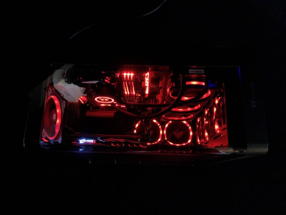 【新品】自作 ゲーミング PC 簡易水冷クーラー i7 7700 メモリ16GB SSD:M.2 250GB MSI GeForce GTX 1060 GAMING X + 6G 限定 の1台_画像3