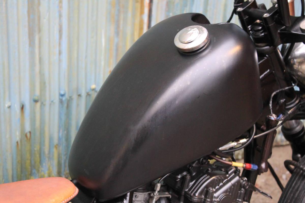 個性派 フリスコ グラストラッカー ビッグボーイ スカチューン フレーム加工 オールドスクール スズキ 検: ボバー チョッパー ZXCV18545_画像5
