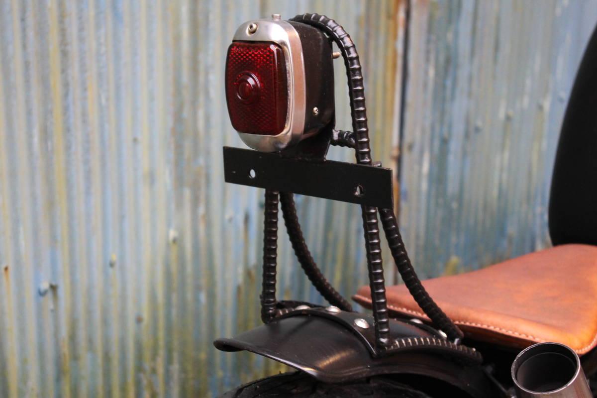 個性派 フリスコ グラストラッカー ビッグボーイ スカチューン フレーム加工 オールドスクール スズキ 検: ボバー チョッパー ZXCV18545_画像7