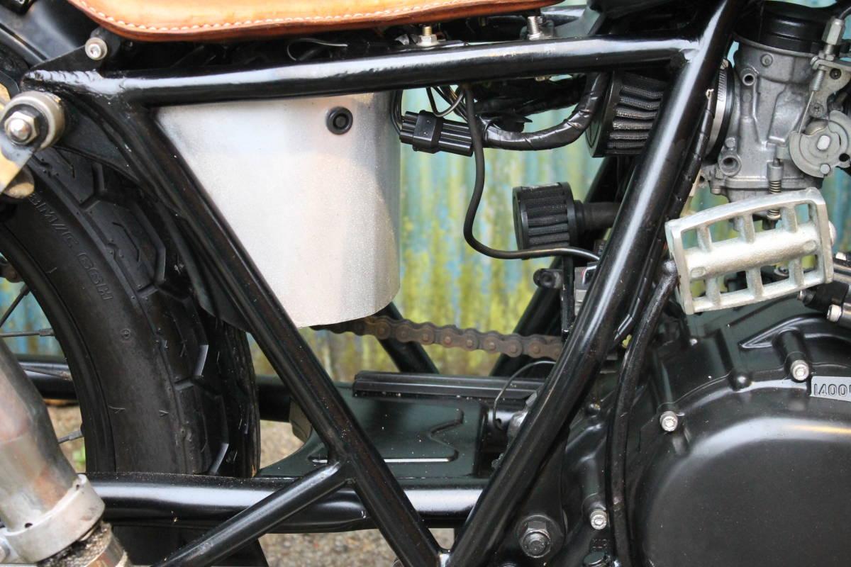 個性派 フリスコ グラストラッカー ビッグボーイ スカチューン フレーム加工 オールドスクール スズキ 検: ボバー チョッパー ZXCV18545_画像10