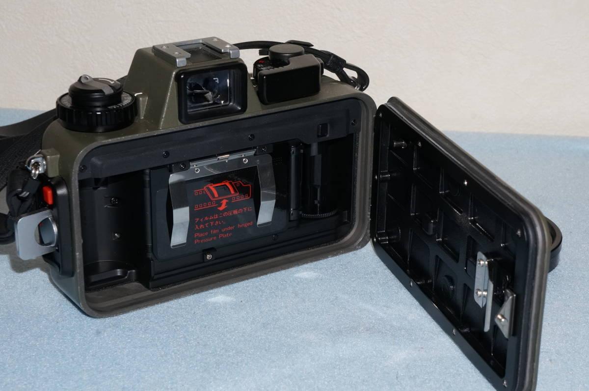★Nikon ニコン NIKONOS-Ⅴ / NIKKOR 35mm F2.5 ニコノス モスグリーン フィルムカメラ 水中カメラ 防水★_画像8