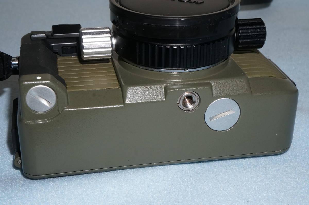 ★Nikon ニコン NIKONOS-Ⅴ / NIKKOR 35mm F2.5 ニコノス モスグリーン フィルムカメラ 水中カメラ 防水★_画像5