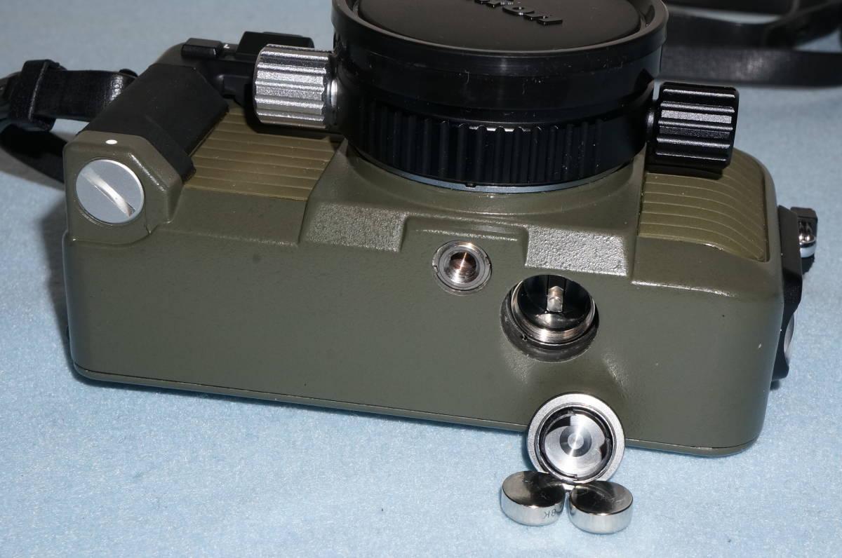 ★Nikon ニコン NIKONOS-Ⅴ / NIKKOR 35mm F2.5 ニコノス モスグリーン フィルムカメラ 水中カメラ 防水★_画像6