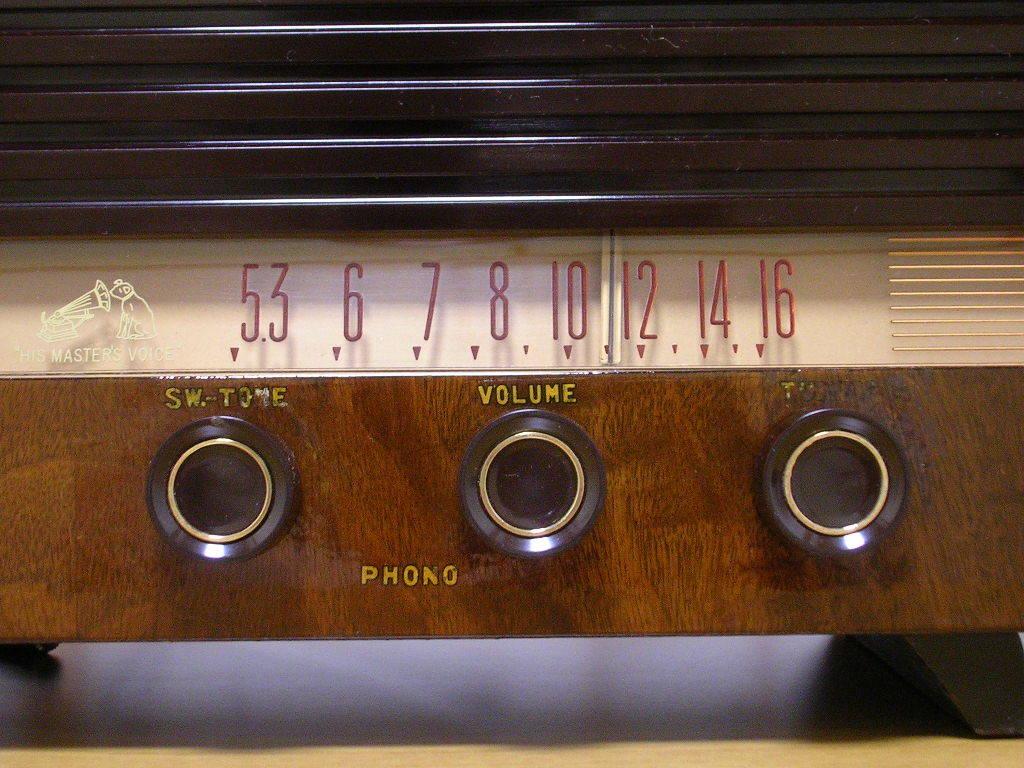 【整備済】 真空管ラジオ ビクター R-601型 5(6)球スーパー  _画像3