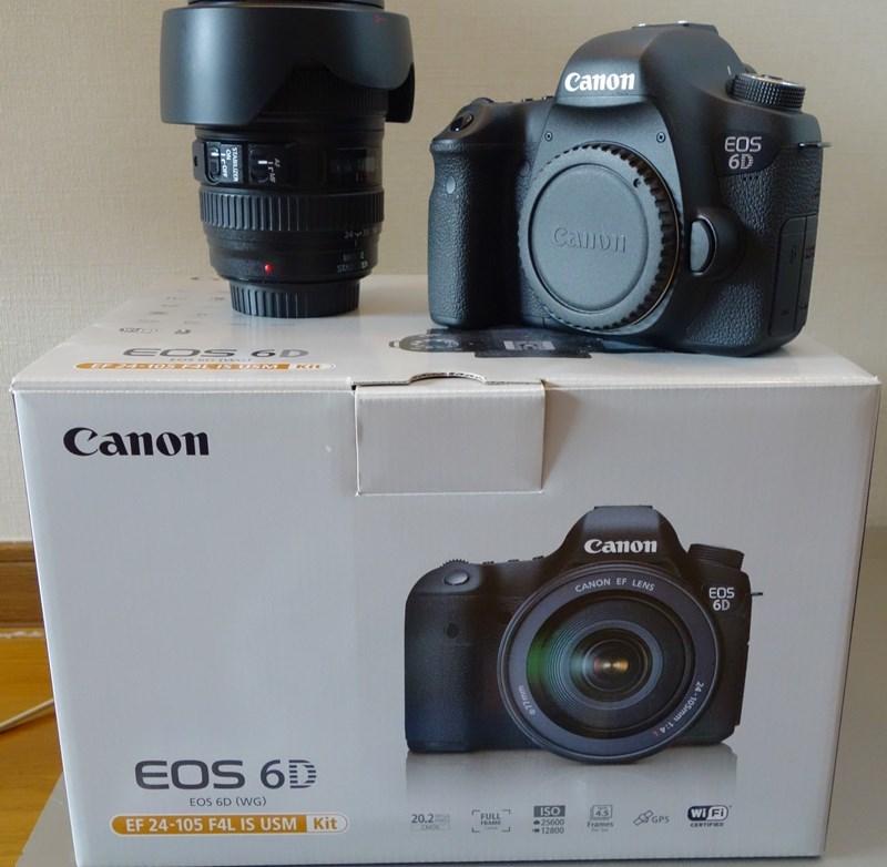 ☆キャノン Canon EOS 6D レンズキット 24-105mm F4L IS 中古美品☆