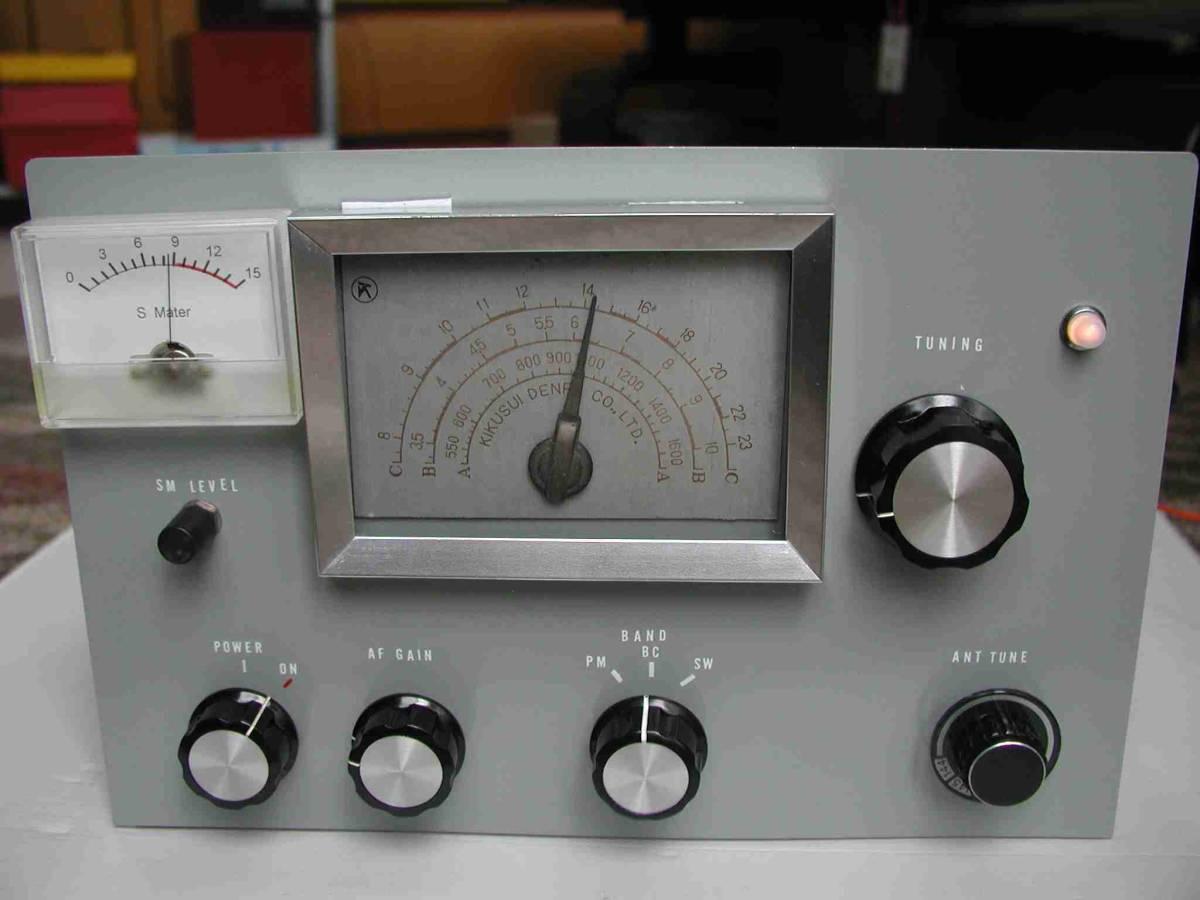 2バンド5球スーパー真空管ラジオ(自作品)