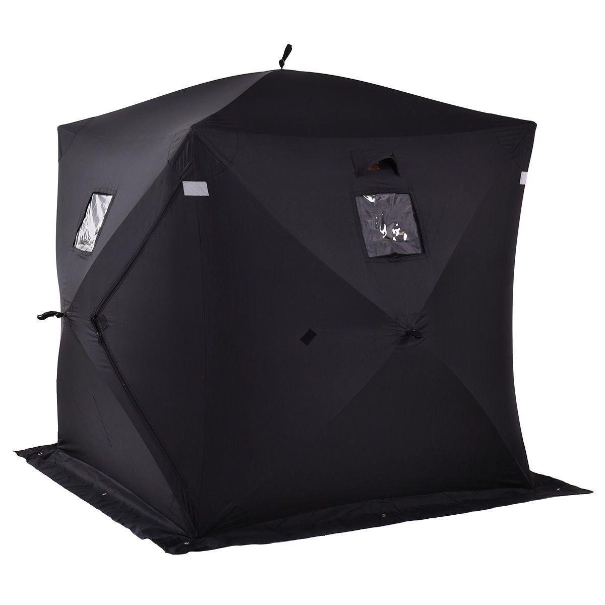 ブラック テント アイス シェルター 超レア! 新品 未使用 キャンプ アウトドア