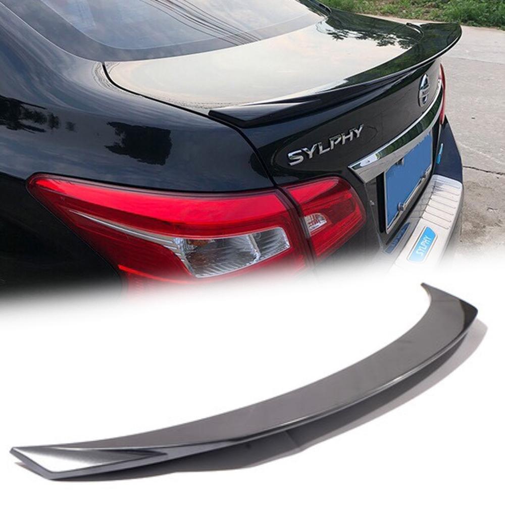 日産 シルフィ B17 リア トランクスポイラー塗装対応 2013-2018_画像1