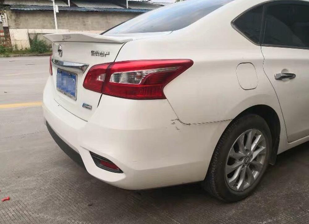 日産 シルフィ B17 リア トランクスポイラー塗装対応 2013-2018_画像5