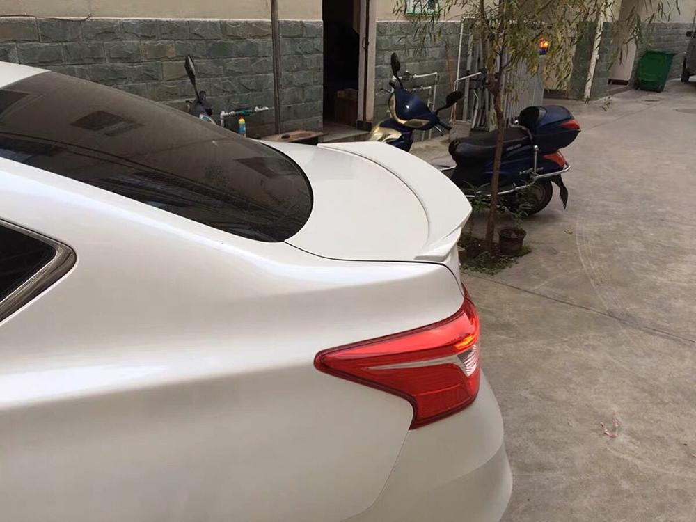 日産 シルフィ B17 リア トランクスポイラー塗装対応 2013-2018_画像4