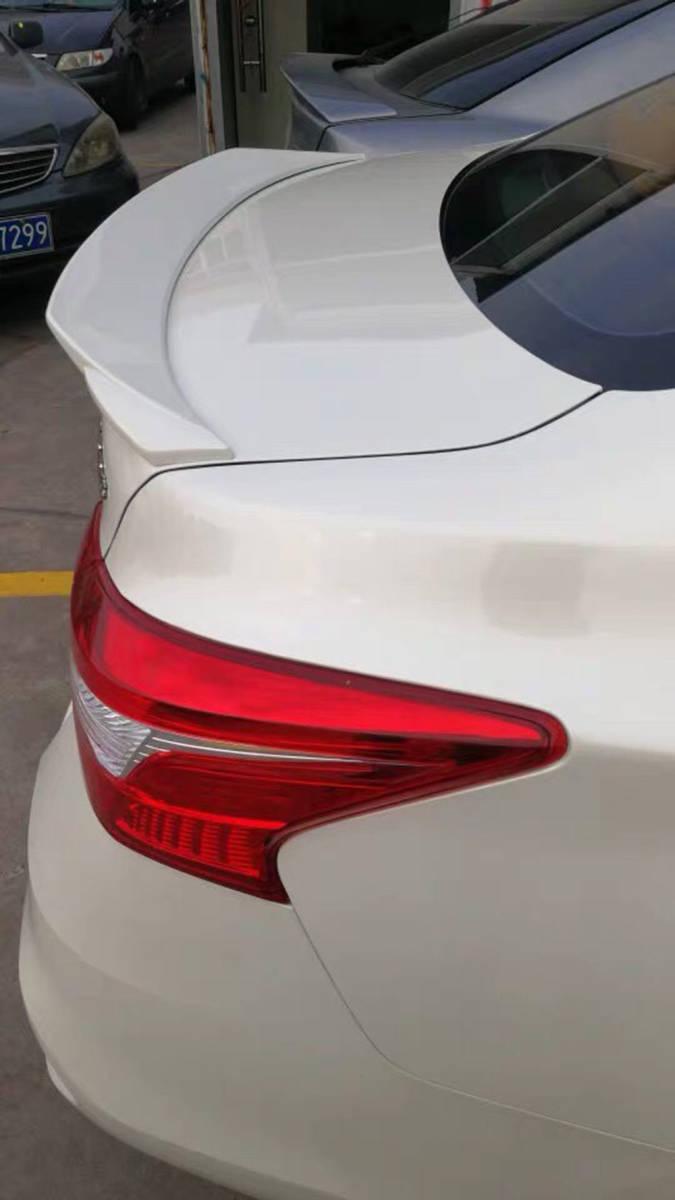 日産 シルフィ B17 リア トランクスポイラー塗装対応 2013-2018_画像7