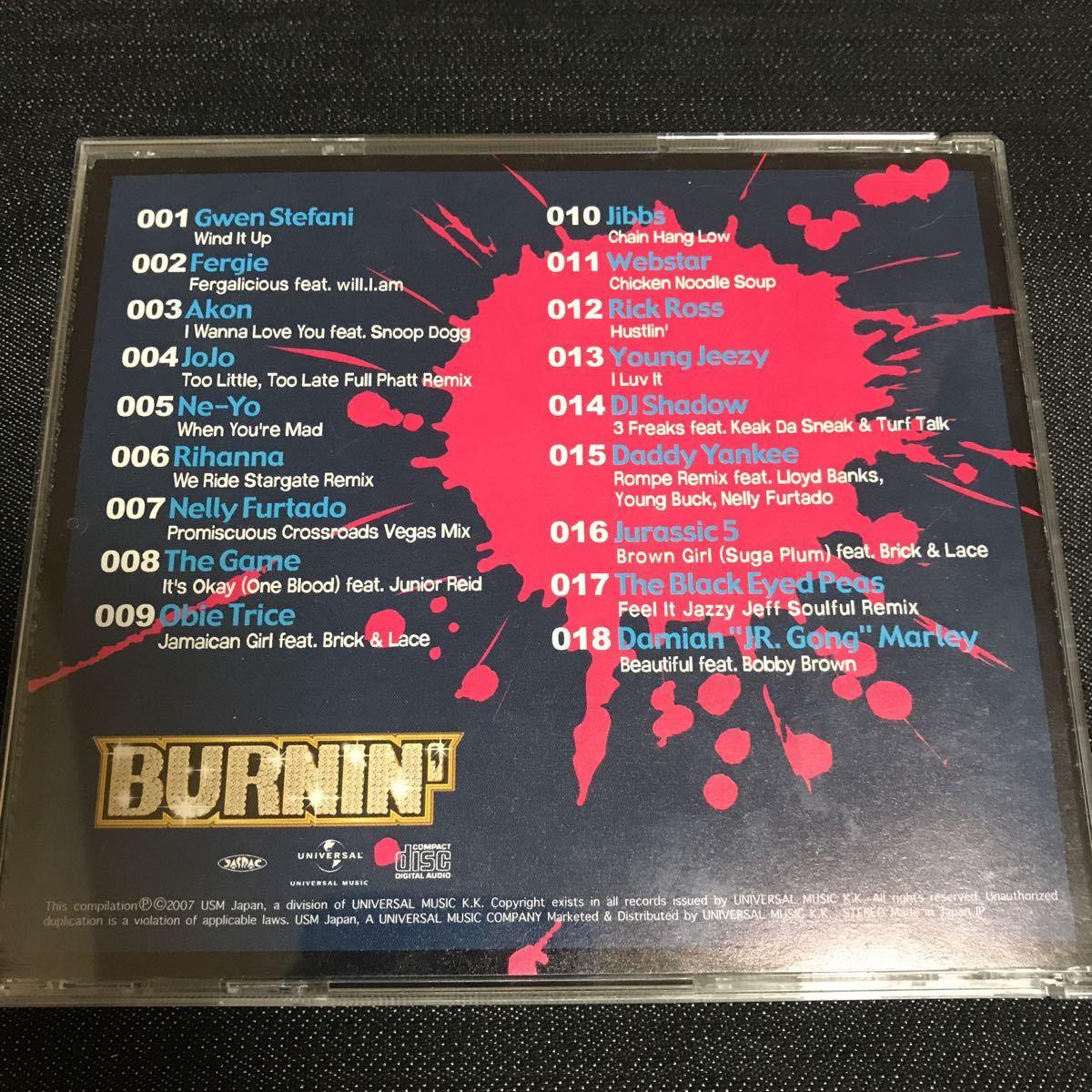 【CD】BURNIN' 3rd HIP HOP R&B HOTTEST HITS
