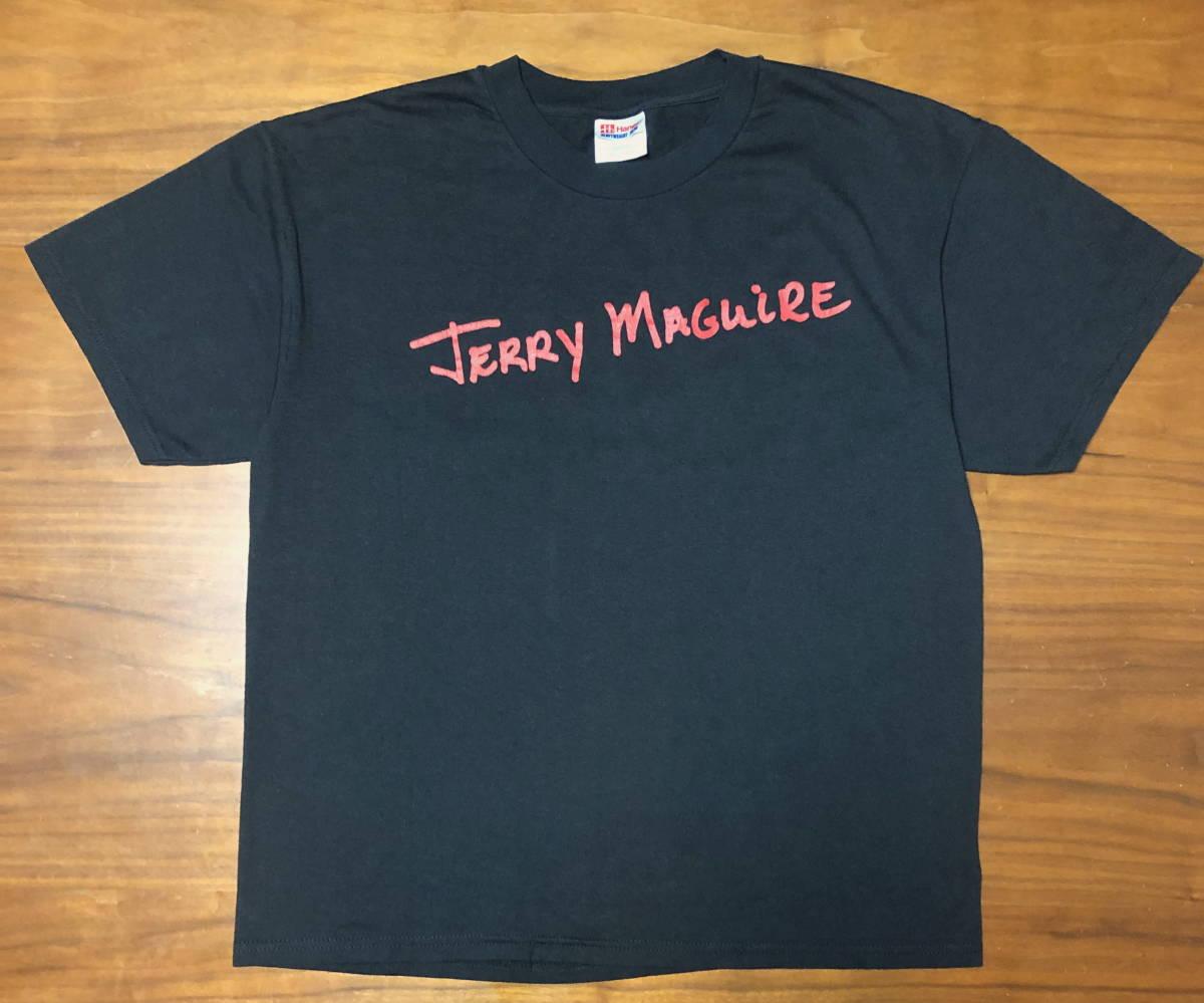 90s ビンテージ 映画 JERRY MAGUIRE ザ・エージェント プロモ Tシャツ 90年代 ヴィンテージ トムクルーズ タランティーノ ムービー RAPTEE_画像1