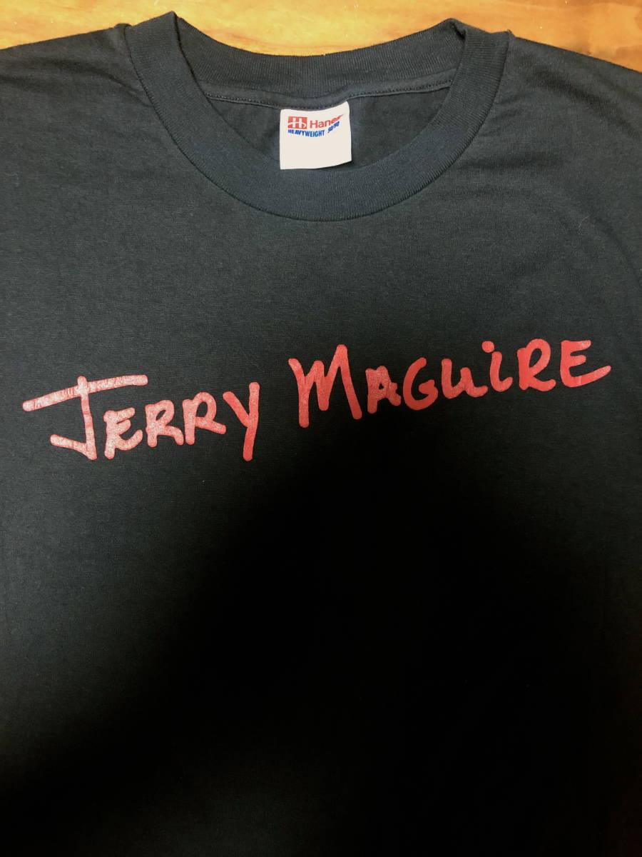 90s ビンテージ 映画 JERRY MAGUIRE ザ・エージェント プロモ Tシャツ 90年代 ヴィンテージ トムクルーズ タランティーノ ムービー RAPTEE_画像2