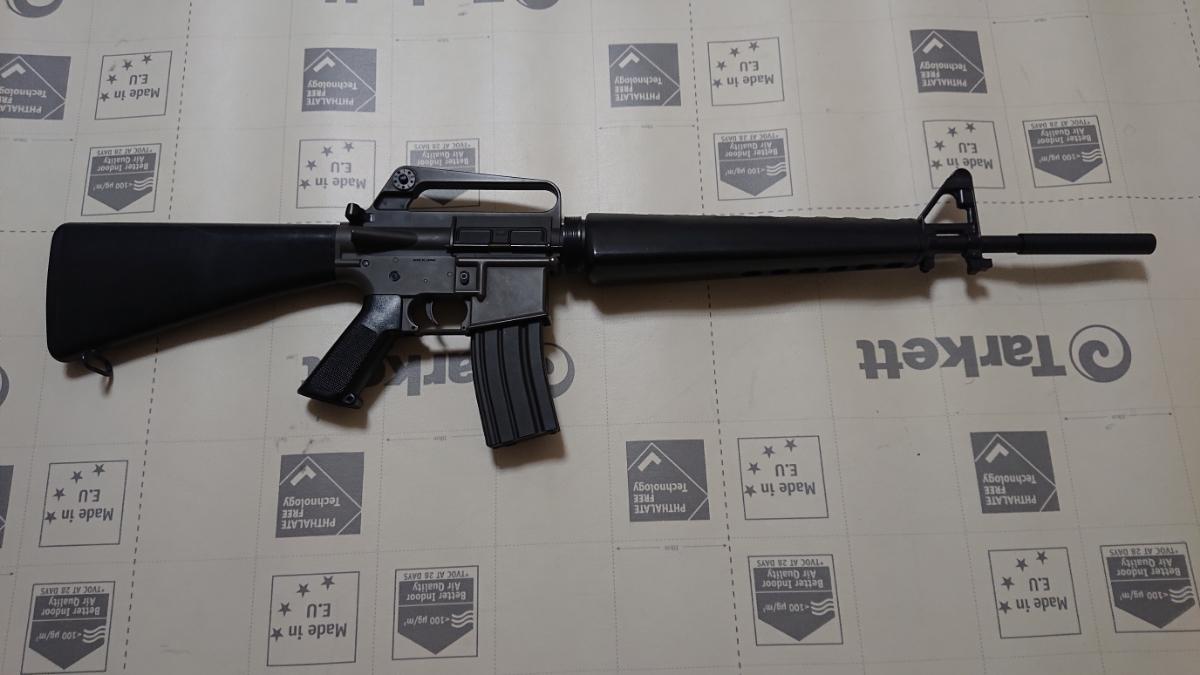 1円~ 東京マルイ 電動ガン M16A1 可変HOP 付属品多数 AR-15 (検) ベトナム M16A2 M4 M4A1 XM177E2 M733 M665 M933 COLT 大量 ライフル_画像2