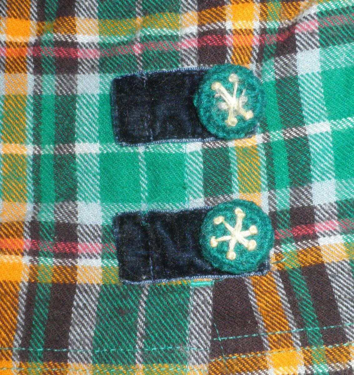 ティンカーベル クマ スパッツ付きスカート スカッツ 95_画像4