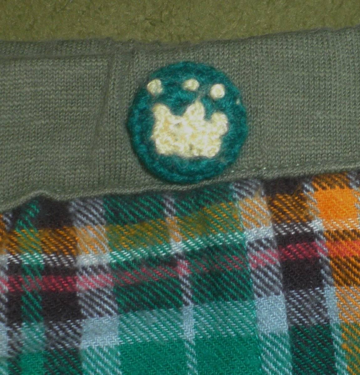 ティンカーベル クマ スパッツ付きスカート スカッツ 95_画像3