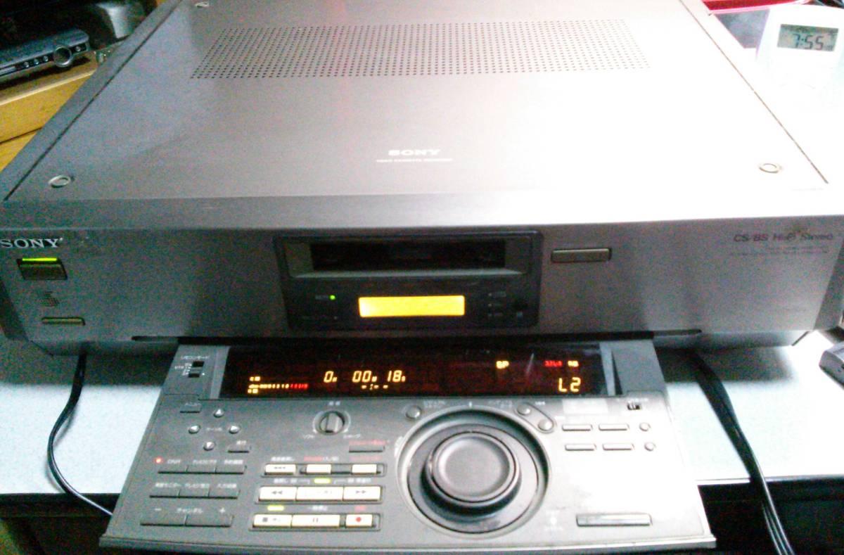 ジャンク品◇ SONY ソニー  8ミリビデオデッキ EV-NS7000NTSC