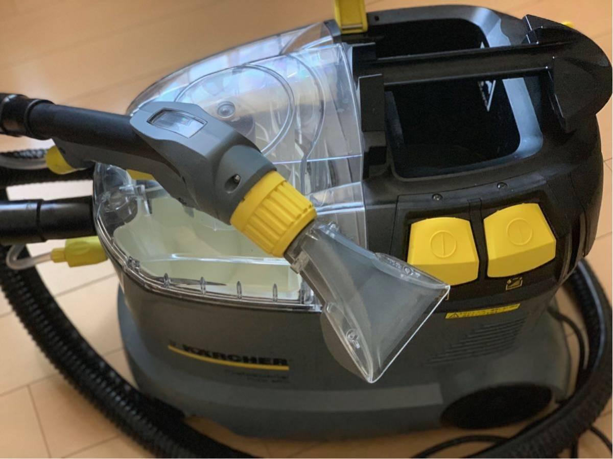ケルヒャー業務用カーペットリンスクリーナーPUZZI1/8Cリンサー カーペット シート ソファーのクリーニングに!おまけ付き_画像2