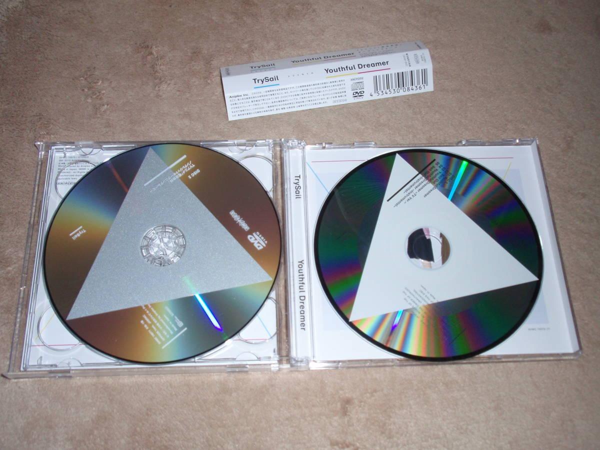 電波教師 OP主題歌 期間生産限定盤DVD付 Youthful Dreamer  TrySail アニソン オープニングテーマ_画像3
