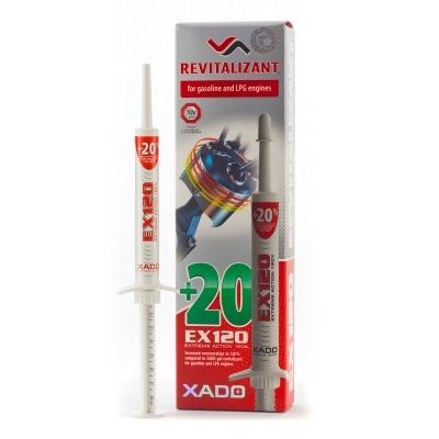 XADO EX120(Revitalizant)-ガソリン&LPGエンジン用添加剤