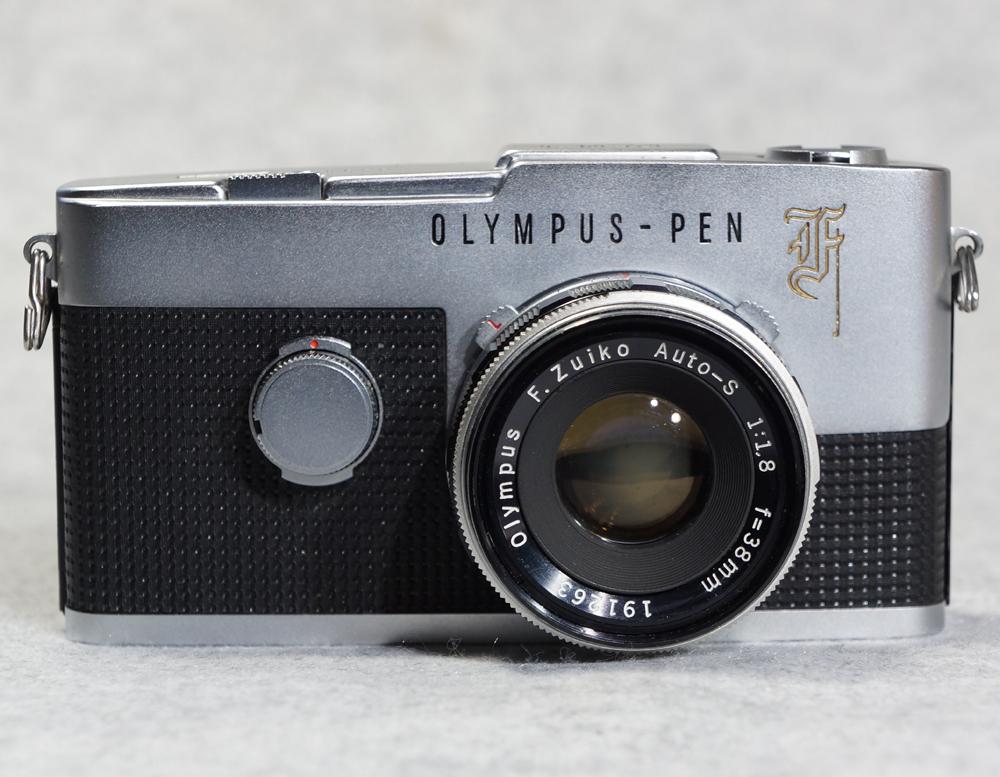 オリンパス ペンF ハーフサイズ フィルム一眼レフカメラ OLYMPUS PEN-F 【美品】_画像2